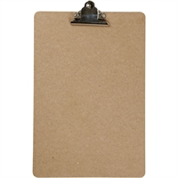 Tegneplade  Clipboard maleplade A4 21x34 cm, tykkelse 3 mm, MDF, A4