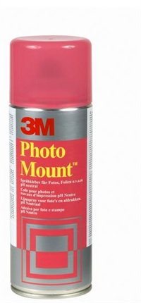 3M Photo Mount 400 ml. spraylim permanent