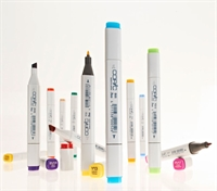 COPIC marker Classic Basic tuschpen med 2 spidser.