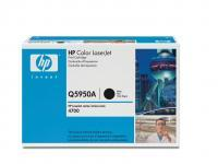 HP Q5950A color laserjet toner til HP 4700, sort