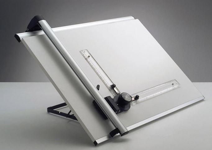 Tec Tegnemaskine Og Tegneplade 49 X 65cm Tom 2 Track Type