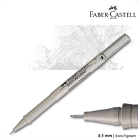 "Faber-Castell Ecco pigment drawing Pen ""ECCO"", finepen tegnepen, flere tykkelser"