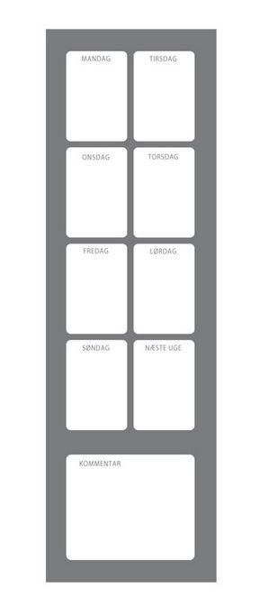 Dejlig Billige Planlægningstavler GR-06